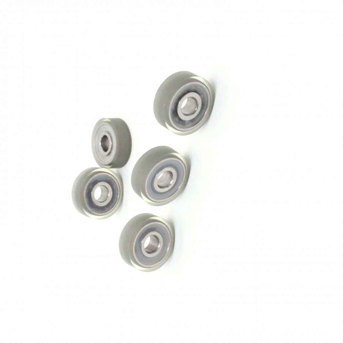 10PCS Flange Ball Bearing 608zz 623zz 624zz 625zz 635zz 626zz 688zz 3D Printers Parts Deep Groove Flanged Pulley Wheel